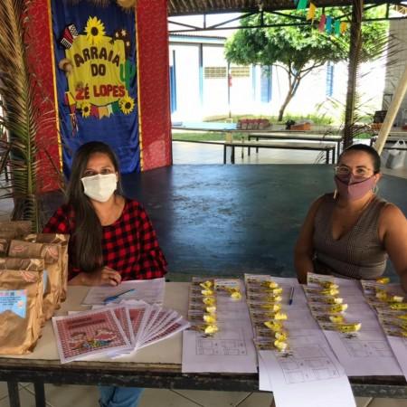 Educação no São João: rede municipal realiza entrega de materiais pedagógicos