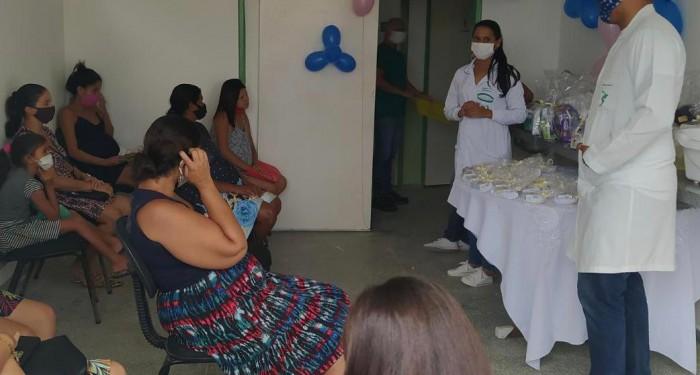 Saúde promove I Oficina de Gestantes