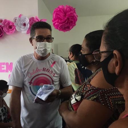 Saúde promove ação de encerramento da Campanha Outubro Rosa