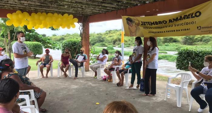 Setembro Amarelo: Prefeitura reforça a valorização da vida e da saúde mental