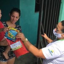 Assistência Social leva alegria para os pequenos do programa Criança Feliz