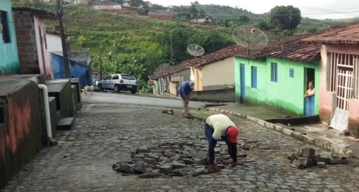 Infraestrutura segue realizando reparos e melhorias em diversas localidades