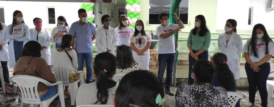 Saúde realiza mutirão de ações voltado ao público feminino