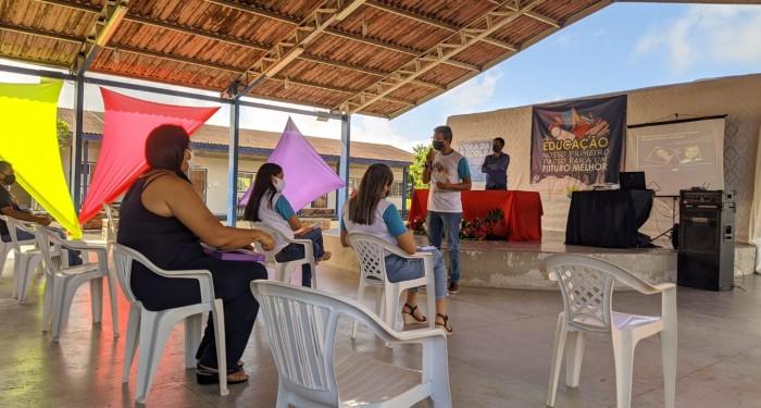 Retomada das aulas: Educação promove ciclo de palestras para professores