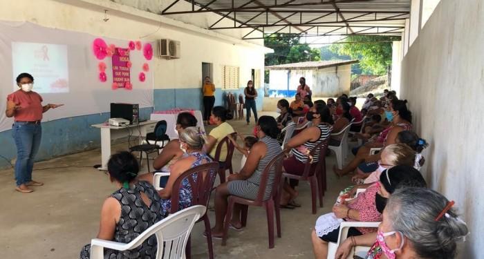 Assistência Social promove palestra em alusão ao Outubro Rosa