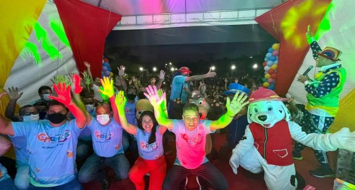 Prefeitura promove grande festa para comemorar o Dia das Crianças