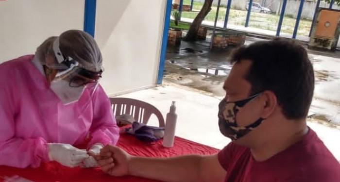Covid-19: Saúde inicia testagem em massa em profissionais da educação